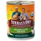 NEWMANS OWN ORGANIC DOG CAN LIVER ORG, 12 OZ