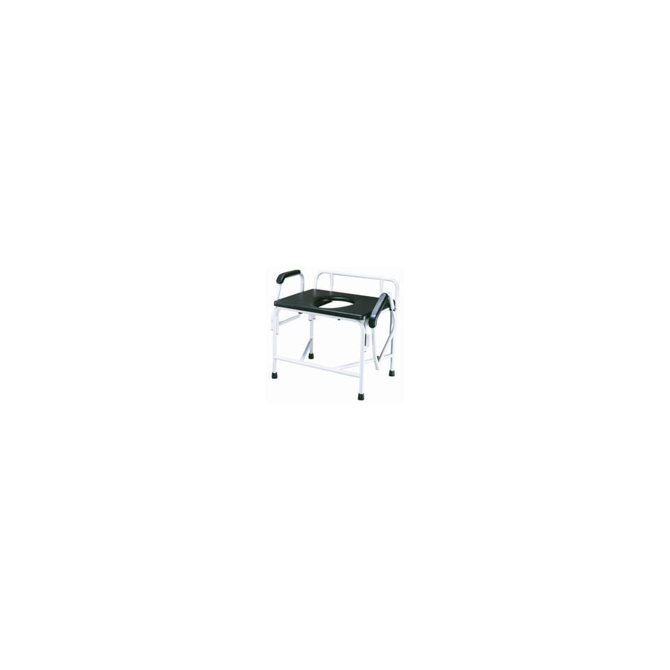 Drive Extra Large Heavy Duty Drop Arm Commode   Weight Capacity 850 lbs.