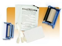 Zebracard 105909-169 Premier Cleaning Kit for All Zebra Card Printers, 50 Cleaning Cards and 25 Swabs