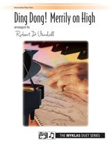 Ding Dong! Merrily on High (Piano Duet (One Piano, Four Hands), Early Intermediate) (Ding Dong Merrily On High Piano Sheet Music)
