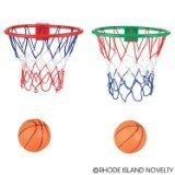 Small Basketball and Hoop for Over Door or Wall mount.