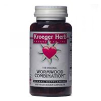 Kroeger Herb Wormwood Combination 100 Vcap by Kroeger Herb Products