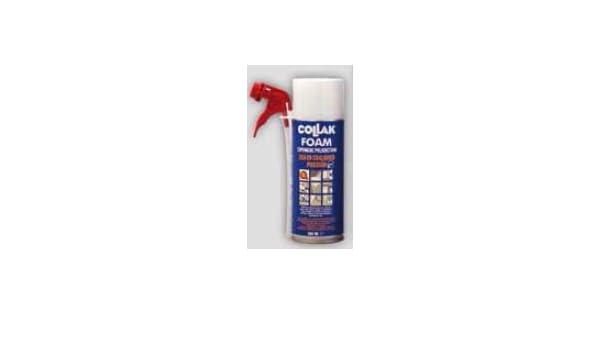 Collak foam - Espuma poliuretano foam 300ml canula: Amazon.es: Bricolaje y herramientas
