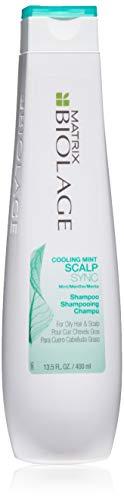 Salon Dandruff Shampoo - BIOLAGE Bioalge Scalpsync Cooling Mint Shampoo For Oily Scalp, 13.5 Fl. Oz.