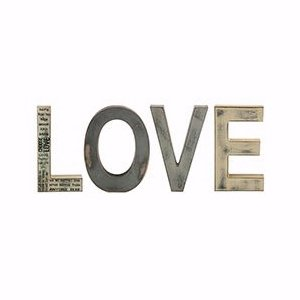 L O V E-Free Standing Letters (4 Letters) (8