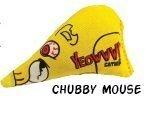 Ducky World Yeowww Catnip - Yeowww! Chubby Mouse