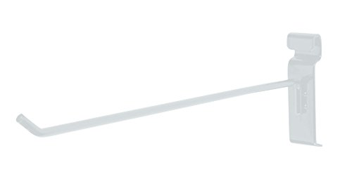 12 inch White Peg Hook for Wire Grid (Grid Wall) - Pack of 50