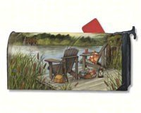 MailWraps Lakeside Mailbox Cover #02045