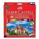 Faber Castell Cf48 - Lápices de colores (madera ecológica, 48 unidades)