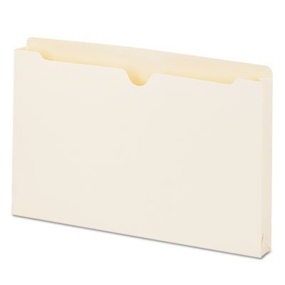 UNV74500 Economical File Jackets with 1 1/2 Expansion, Legal, 11 Point Manila, 50/Box by Unknown