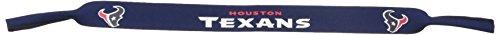 (NFL Houston Texans Neoprene Sunglass Strap, Blue)