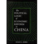 img - for The Political Logic of Economic Reform in China by Shirk,Susan L.. [1993] Paperback book / textbook / text book