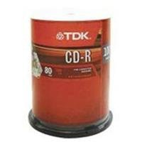 700MB 52x CD-R Media - Pack of 100 by TDK