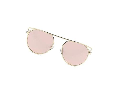 de Pink de del los las las sol Gafas gafas sol UV400 mujeres de hombres marco de de moda FlowerKui de gaqA5