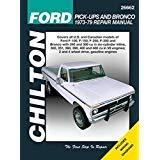 ford bronco repair manual - 8
