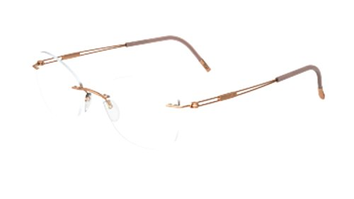 Silhouette Eyeglasses TNG Titan Next Generation Chassis 5521 3530 Optical Frame
