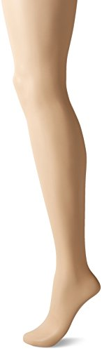 Sheer Stretch Pantyhose - CK Women's Sheer Stretch Pantyhose with Control Top, Buff, Size B