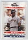 Barry Bonds #254/2,001 (Baseball Card) 2003 Playoff Prestige - Award Winners #AW-2 - 2003 Playoff Prestige Award