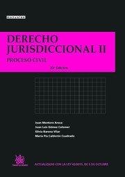 Descargar Libro Derecho Jurisdiccional Ii Proceso Civil 23ª Edición Juan Montero Aroca