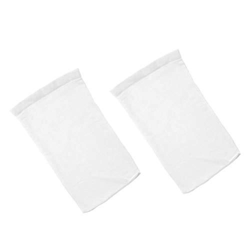 Yardwe Calcetines de Piscina Filtros para Cestas y Esquímeras Malla Fina para Calcetines de Elimina Residuos Hojas Aceite...