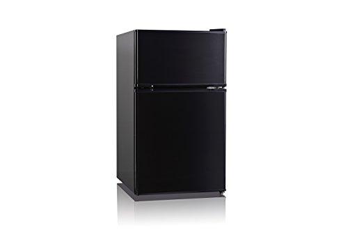 Midea WHD-125FB1 Compact Refrigerator, Black, 3.4 cu. ft.