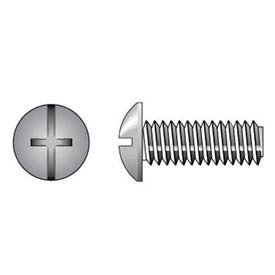 100-Pack The Hillman Group 831451 1//4-20 x 1-Inch Stainless Steel Truss Head Combo Machine Screw