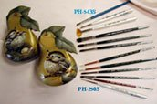 Silver Brush PH-543S Peggy Harris Trade Secrets Brush Set, 6 Per Pack