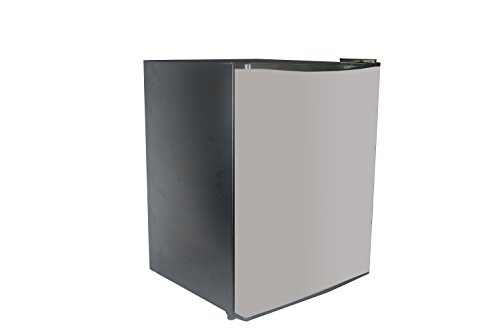 SPT RF-245SS 2.4 cu. feet COMPACT REFRIGERATOR, Stainless Steel/Black