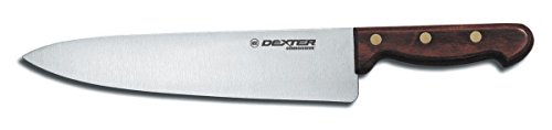 Connoisseur Cooks Knives (Dexter Russell 45-10PCP Connoisseur Wood Handle 10