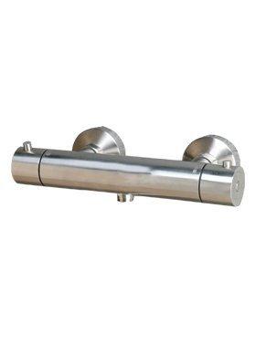 Erstaunlich Landion - Thermostat Duscharmatur Brausearmatur massiv Edelstahl  HK93