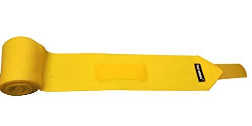 TGW RIDING Polo Leg Wraps, 4-Pack (Yellow) ()