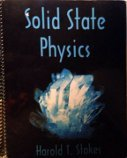 Solid State Physics, Stokes, Harold T., 0842524894
