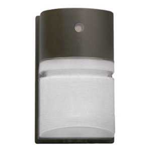 Hubbell Outdoor NRG204BPC 42-watt CFL Decorative Wallpack with Photo Control and Lamp, 120-volt, Bronze (Hubbell Led Wall Pack compare prices)