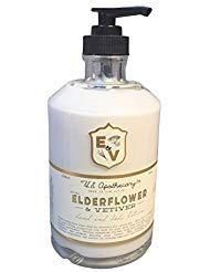 U.S. Apothecary Elderflower and Vetiver Body and Hand - Canister Set Drake