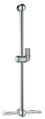 Hansgrohe 06890000 Unica E Wallbar with Soap Dish, 24-Inch, Chrome by Hansgrohe