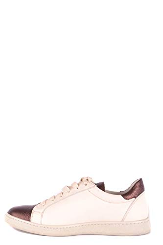 Zapatillas Mujer Brunello MCBI053084O Beige Cucinelli Cuero w1Tq4