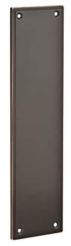 Emtek 86436 3 Inch x 12 Inch Modern Push Plate Oil Rubbed Bronze