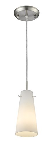 Z-Lite 133MP-BN 1 Light Mini Pendant 1 by Z-Lite
