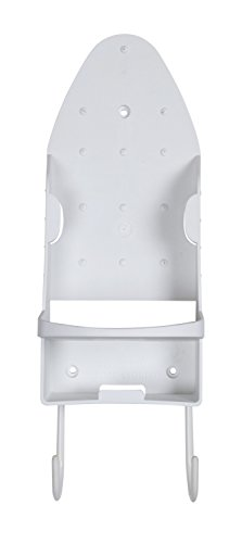 Sophisti-Clean Iron Organizer, Holds Iron and Ironing Board, Easily Mount Against Wall or Door ()