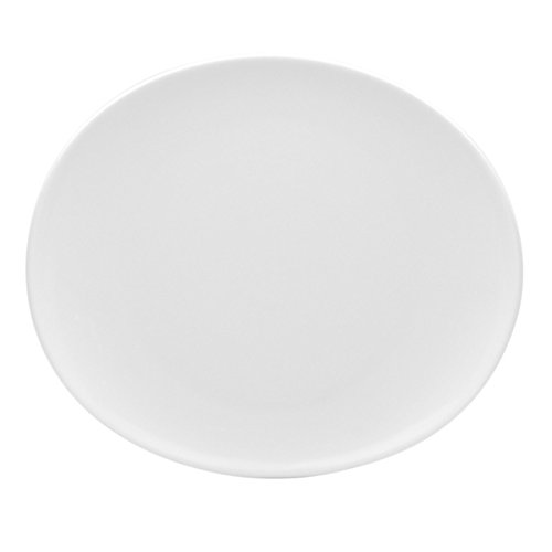 Red Vanilla Butterfly Salad Plates White (Set of 6)