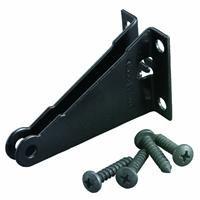 HAMPTON PRODUCTS-WRIGHT V1020JBBL Replacement Jamb Bracket, (V1020 Pneumatic Door)