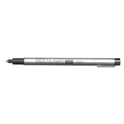 Copic Mlsp07 Multiliner Sp - Refillable - Black Pen .7mm