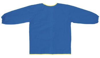 8 Pack CHENILLE KRAFT COMPANY LONG SLEEVE ART SMOCK BLUE by Chenille Kraft
