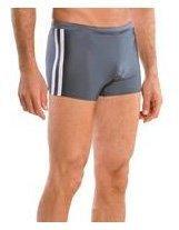 9305ca84b9 Speedo Men's Xtra Life Lycra Shoreline Square Leg Swimsuit, Charcoal, Small