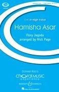 (Hamisha Asar: Les enfants chœur (SSA) et Piano. chœur PARTITUR. (Choral Music)