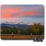 sunrise over sneffels range Mouse Pad, Mousepad (Mountains Mouse Pad)