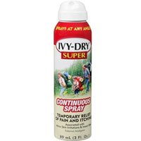 IVY-DRY Super Continuous Spray, 3 oz (Pack of 2)