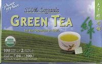 2 Packs Prince of Peace Organic Green Tea 100 Tea Bags