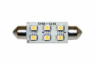 Symphony Dimmable LED Festoon 12V 3500K SYM-1235 (Symphony 3 Bulb)