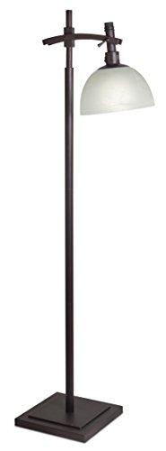 OttLite 25W Pacifica Floor Lamp - Rubbed Bronze Finish